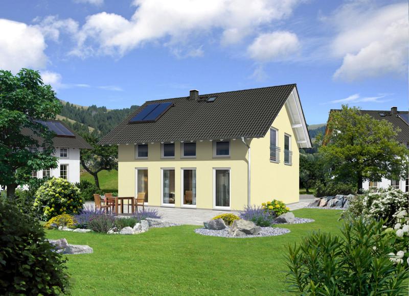 millstatt 145 trend ihr town country massivhaus. Black Bedroom Furniture Sets. Home Design Ideas