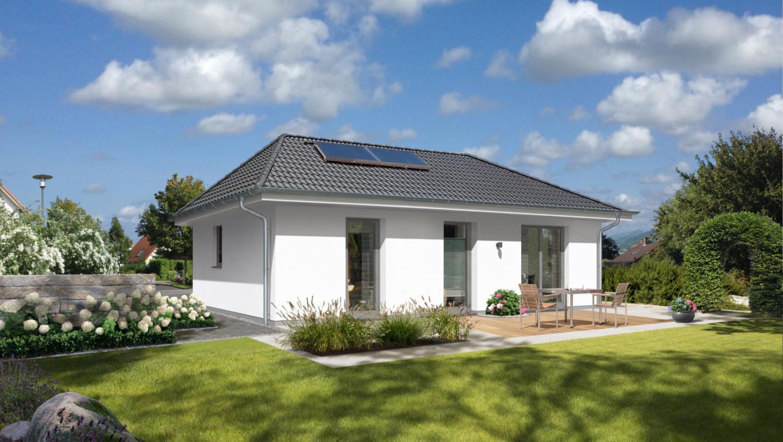 der bungalow 78 elegance grundriss ihr town country massivhaus. Black Bedroom Furniture Sets. Home Design Ideas