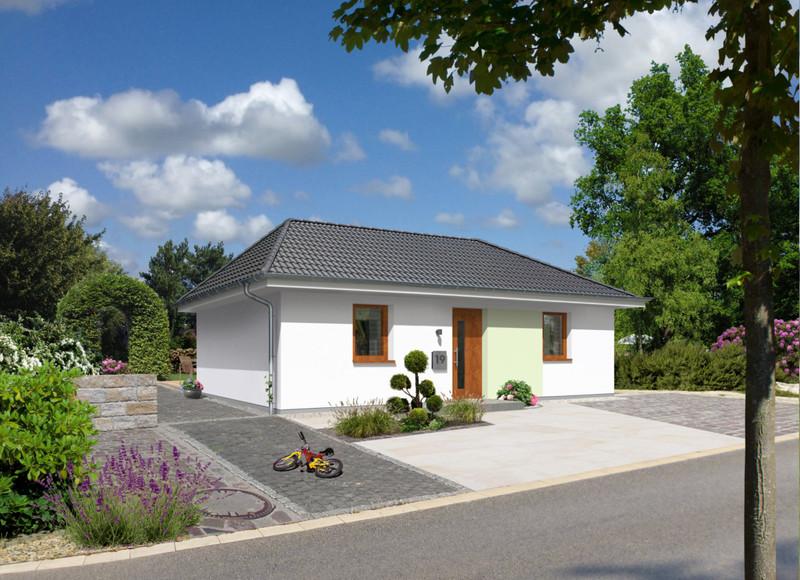 der bungalow 78 trend ihr town country massivhaus. Black Bedroom Furniture Sets. Home Design Ideas