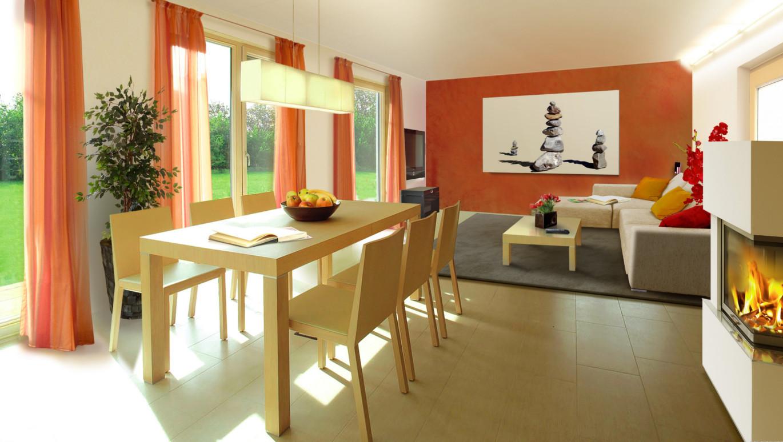 das flair 128 trend ihr town country massivhaus. Black Bedroom Furniture Sets. Home Design Ideas