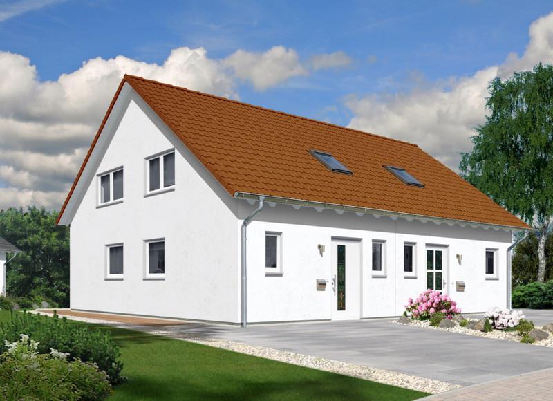 Hausvarianten   Doppelhaus Graz 126   Trend