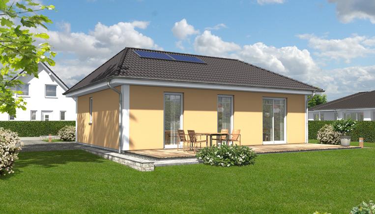 der bungalow 78 ihr town country massivhaus. Black Bedroom Furniture Sets. Home Design Ideas